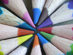 Pencils and macro photography
