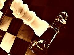 Chess and Infinity Rain