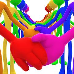 Holding hands concept_lumaxart