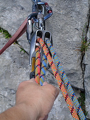 Climbing and schoeband