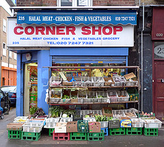 Corner shop and Emily Webber