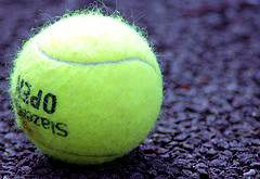 Tennis ball and David H-W (extrajection)