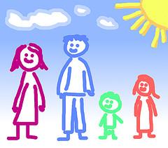 Family and Tim Morgan