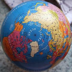 Globe and 4 rank